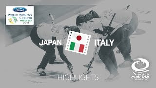 HIGHLIGHTS: Japan v Italy – Round-robin – Ford World Women's Curling Championship 2018