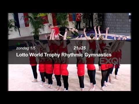 Lotto World Trophy Rhythmic Gymnastics