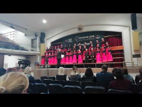 EKURHULENI CHILDREN'S CHOIR, World choir games 2018