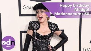 Happy birthday your Madgesty! Madonna turns 60