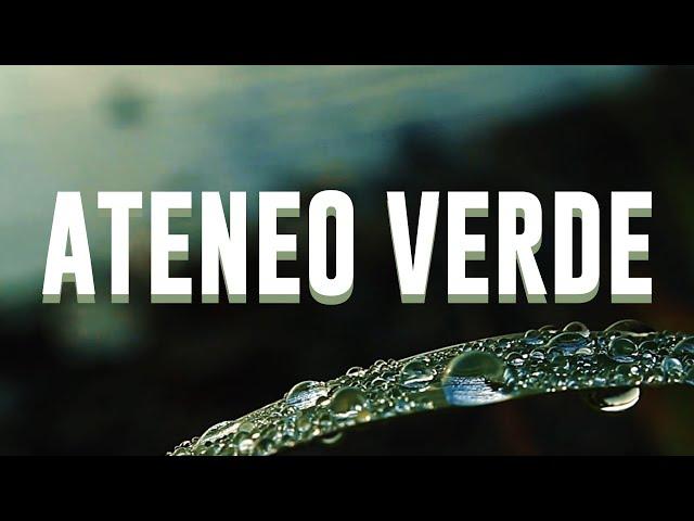 ATENEO VERDE - Puntata del 28/3/20 Misa Urbano e Stefano Tiozzo