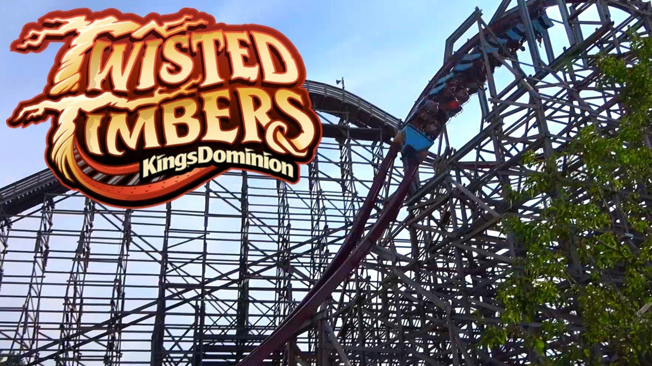 Twisted Timbers Off Ride - Kings Dominion