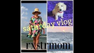 Saturday Vlog ~ Beach-Fun-Sunset Cruise ~ Over 70 Beauty 🌸🍃