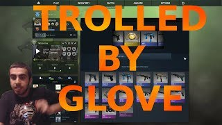 CSGO - TROLLED BY GLOVES