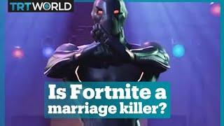 Fortnite is blamed for destroying hundreds of marriages