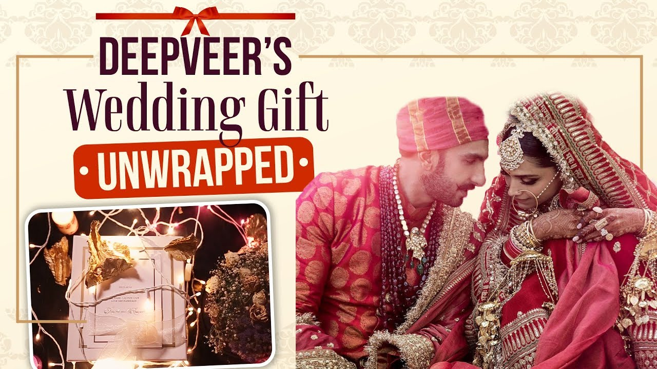 What's inside Deepika Padukone and Ranveer Singh's Thank You wedding gift| Deepika ki Shaa