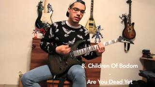 Top 12 Drop C Guitar Riffs