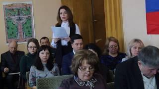 Cовещание в администрации города Горловка