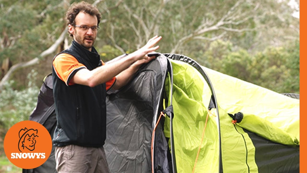 new arrival f2845 e089b Oztent Malamoo Mega 4P Pop Up Tent - How to pack away