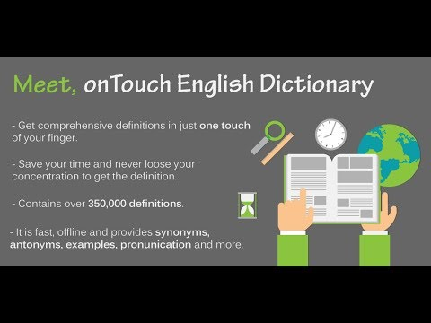 onTouch English Dictionary - offline - Apps on Google Play