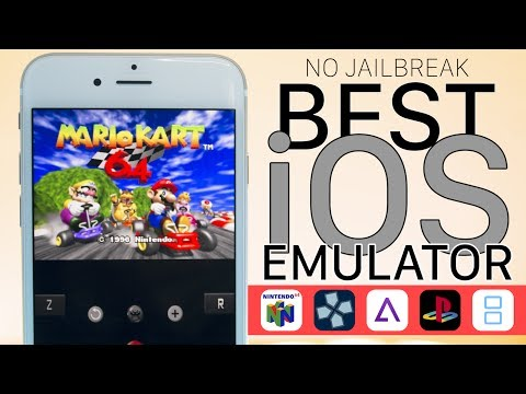 Play All Emulators on iOS 10.3.2, 10.3 & 10.2 - GBA, NDS, PSP, PS1, & N64! (NO JAILBREAK)
