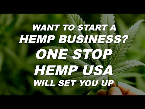 How to Start a HEMP BUSINESS by Cannabis Frontier