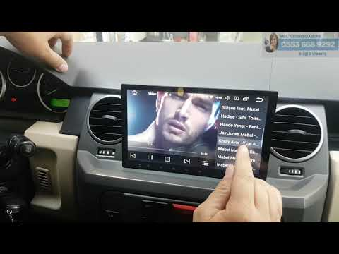 Land Rover Discovery 3 Android Multimedya Ve Başlık Monitör Montajımız - Emr Garage Ankara