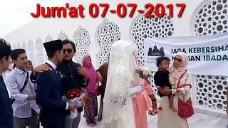 Prewedding Muzammil Hasballah dan Sonia di Masjid Baiturrahman Banda Aceh