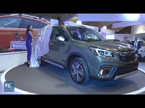 Chinese Vehicles On Show At Bogota International Car Show