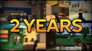 2 Years of Pixel Strike 3D in 2 Minutes