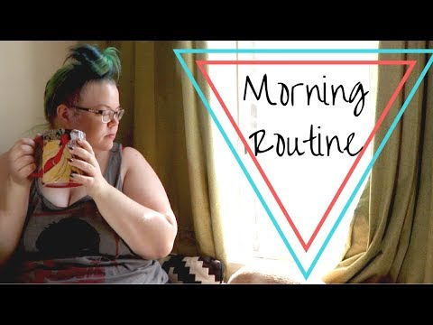 Morning Routine GRWM: What I Eat, Acne Treatment and Hair Routines