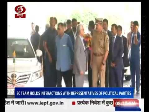 EC team visits Hyderabad to review poll preparedness in Telangana