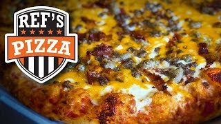 Ref's Cheeseburger Pizza Review