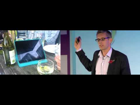 How to empower and engage your customer with mobile applications - Graham Horner, Telegraph Group