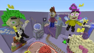 Minecraft Xbox - Hide and Seek - The Fairly OddParents
