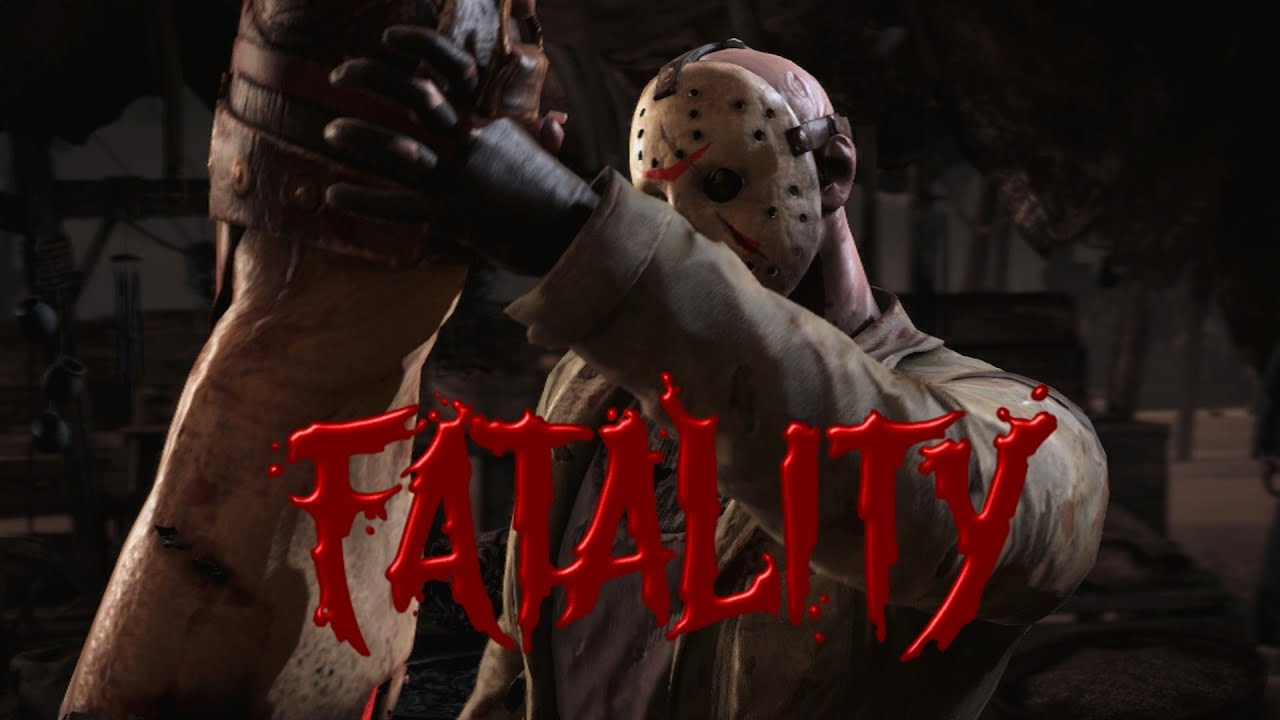 Mortal Kombat X Jason Voorhees Fatality sleeping bag killer