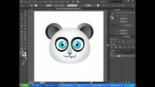 Adobe Illustrator CS6 Basics   Create Cartoon Characters Tutorial Part 2