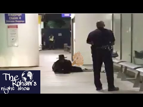 ZORRO MAN ARRESTED FOR LOUD NOISES IN LAX!!!