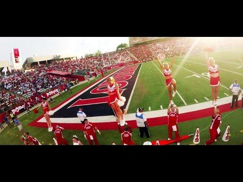 Louisiana-Lafayette Ragin' Cajuns Football 2016 - ULL 30 vs 22 MSU Game Experience Highlights