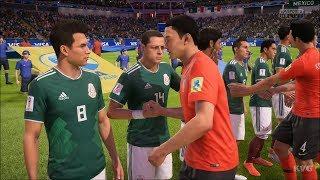 2018 FIFA World Cup Russia - Korea Republic vs Mexico - Gameplay (HD) [1080p60FPS]