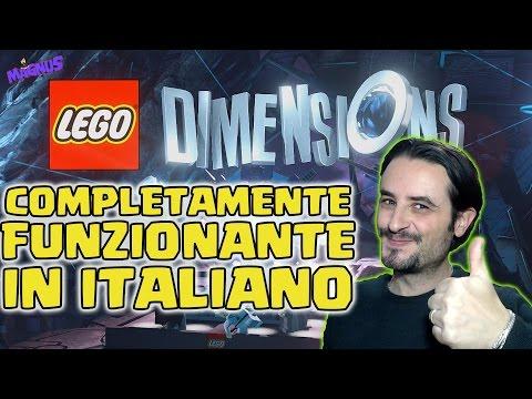 LEGO Dimensions ITA - Completamente Funzionante in Italiano - PS4