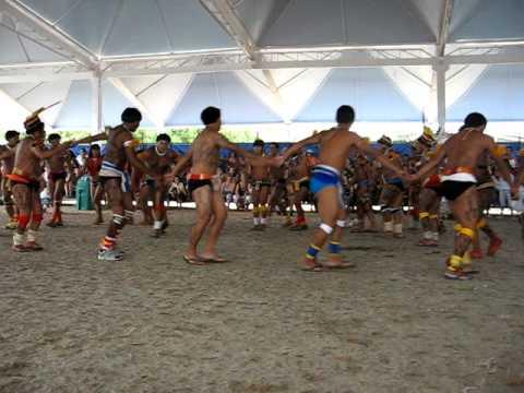 Dança da alegria Yawalapiti