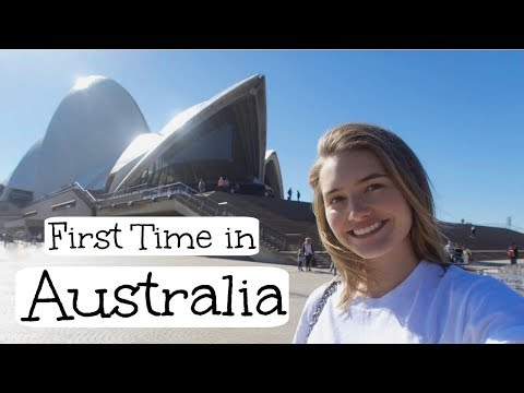 My First Time in Australia | Opera House, Bondi Beach, Healt