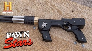 Pawn Stars: 4-Barrel Speargun (Season 15) | History
