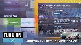 Sony Bravia 50 W 805C Zoll mit Android TV + Intel Compute Stick - Tech - 4K