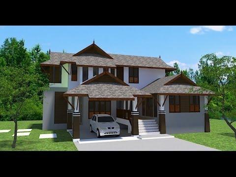 แบบบ้านชั้นครึ่งทรงไทยประยุกต์ 3,900บาท
