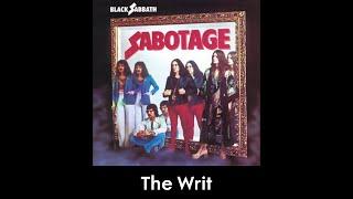 Black Sabbath - The Writ (lyrics)