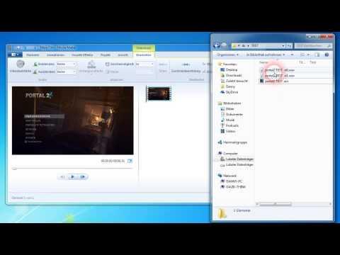 Zusätzliche Tonspur auf Video legen - Microsoft Movie Maker