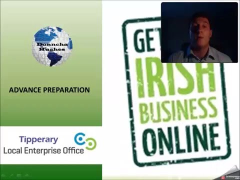 Signing up for Getting Irish Business Online (GIBO)