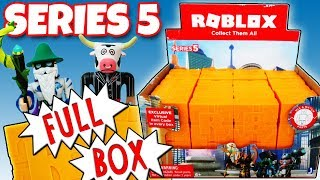 NEW ROBLOX Series 5 FULL BOX Yellow Mystery Boxes Opening Toy Review | Trusty Toy Channel