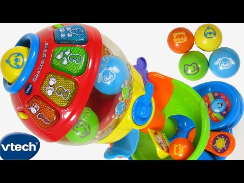 NEW VTECH BABY TODDLER SPIN & LEARN BALL TOWER TOY 100 LIGHTS & SOUNDS