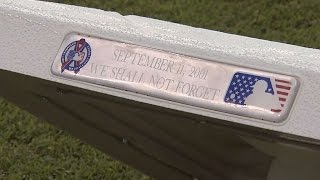 MLB remembers the tragic events of Sept. 11, 2001