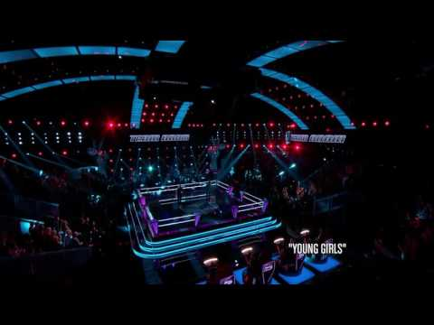 John Wyndham Vs Chris Jamison - Young Girls | The Battle | The Voice 2014