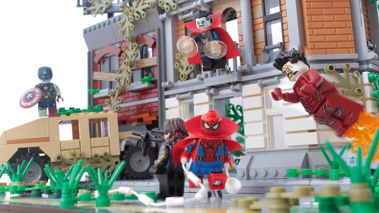 Lego Marvel Zombies MOC