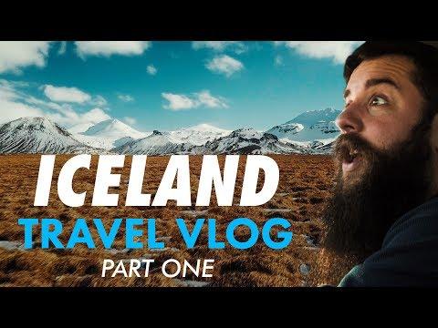 Come with me to Iceland!   Behind The Scenes Travel Vlog (Part 1)