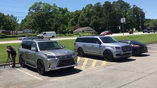 2017 Lexus LX 570 vs 2018 Lincoln Navigator Cargo/Interior Comparison