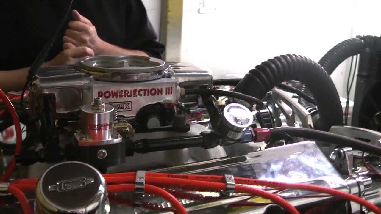Chevy 383 Stroker with 450hp Featuring PowerJection III EFI