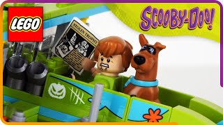 ♥ LEGO Scooby Doo MYSTERY PLANE ADVENTURES Stop Motion Build