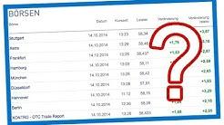 An Welcher Börse Aktien kaufen? Börse Stuttgart, Frankfurt oder Xetra?