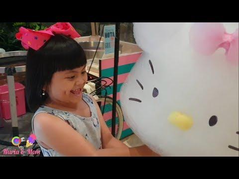 BIG HELLO KITTY GULALI & ICE CREAM UNICORN @Pakuwon Mall -Surabaya